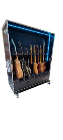 Bilde av Gitarskap for 1bass,4 elgitarer, 3 akustiske og